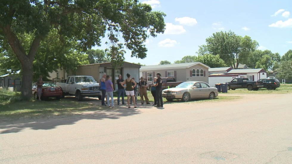Baltic, South Dakota mobile home owners voice concerns