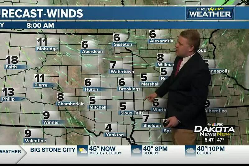 Sunday Night Forecast with Meteorologist Austin Haskins