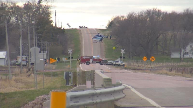 Crews respond to a fatal farm accident near Baltic April 14