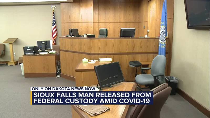 Sioux Falls man released from federal custody amid COVID-19