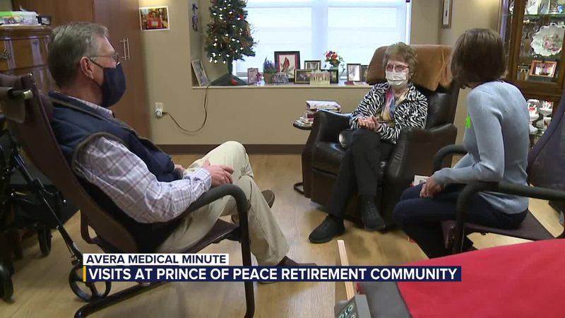 Avera Medical Minute: Prince of Peace Retirement Community opening up for in-person visitors