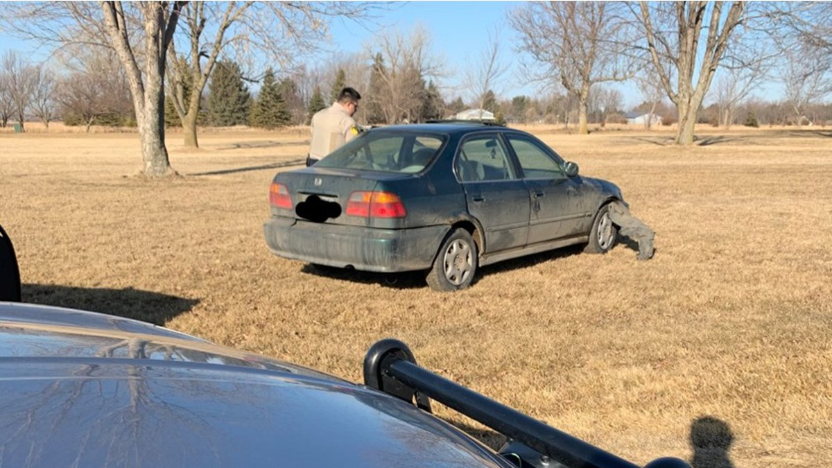 A Sioux Falls man is in custody following a pursuit through Lincoln County and Tea Thursday...