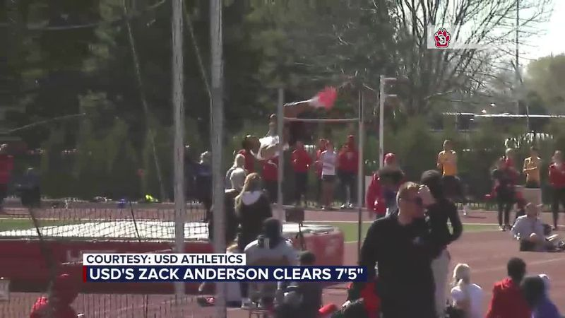 USD's Anderson qualifies for Olympic Trials
