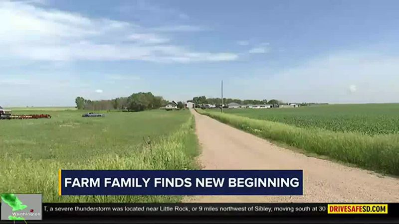 The Dykshorn family is finding a new beginning after a member of their family died by suicide.