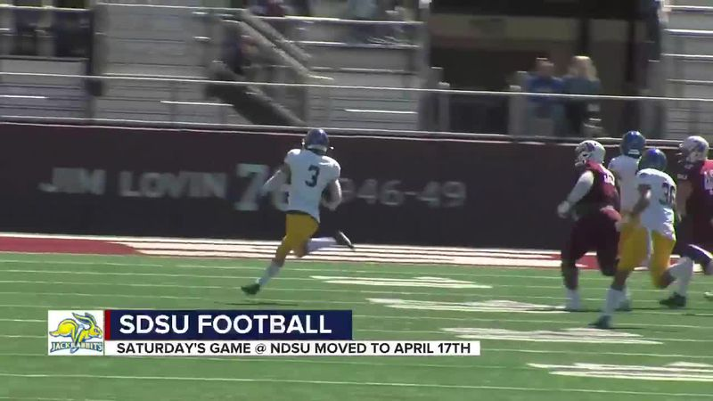 SDSU's Stiegelmeier glad they are trying to finish the football season