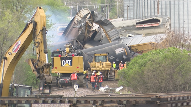 As crews work to clean up the mess, many residents in town are getting back to their usual...