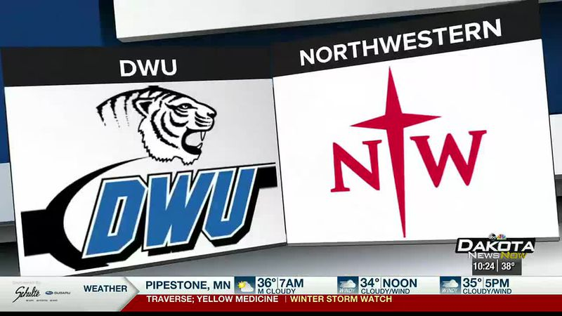 Northwestern sweeps GPAC doubleheader with DWU at Orange City