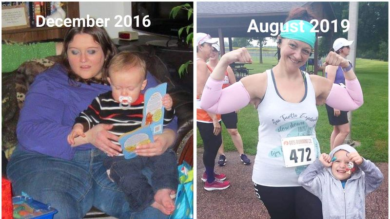 Ruthie Haag was overweight her entire life until she decided to do something about it in 2016.