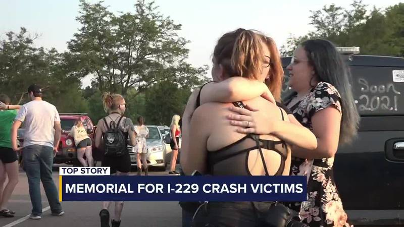 Sioux Falls community gathers to remember three I-229 crash victims