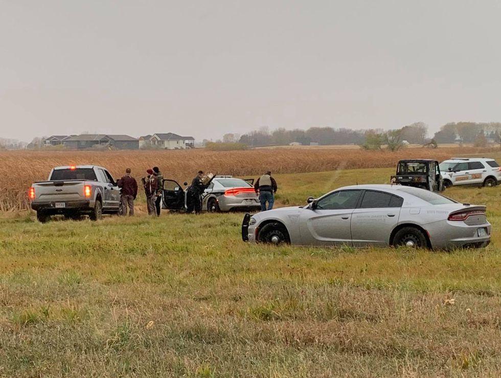 Law enforcement track down alleged home invasion suspect in a corn field near Harrisburg