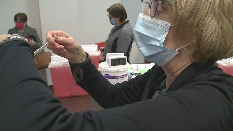 Many Avera retirees have returned to volunteer at vaccine clinics