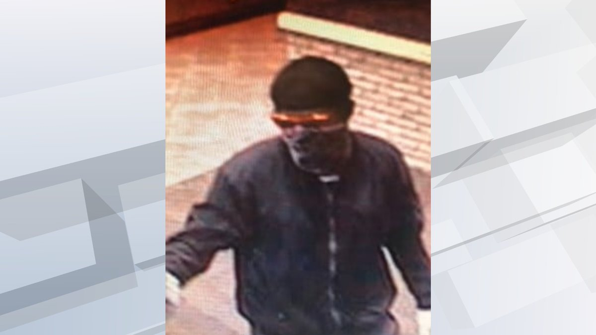 Authorities in northwest Iowa are searching for the suspect in a reported bank robbery in...