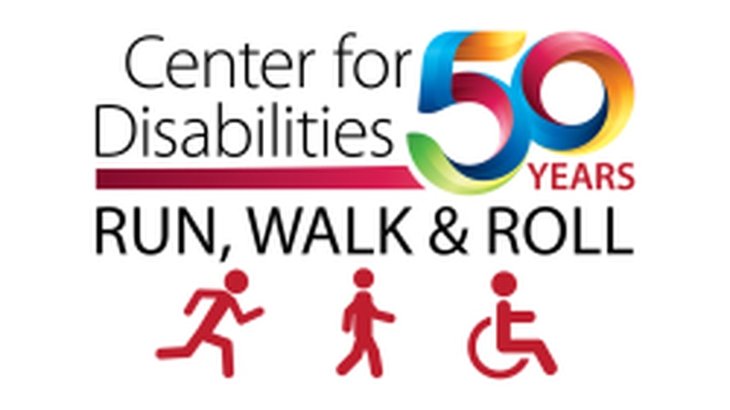 Center of Disabilities celebrating 50 years of service by hosting a Run, Walk & Roll.