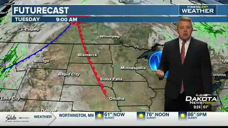 Sunday Forecast with Meteorologist Austin Haskins