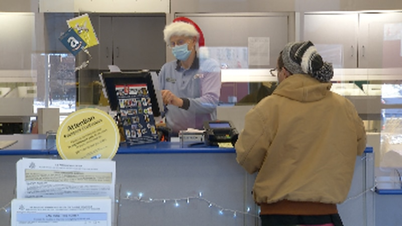 Mail carriers experience record holiday season