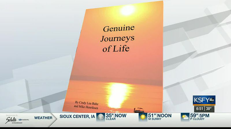 A South Dakota sports broadcaster, Mike Henriksen, talks about his new book he's releasing in...
