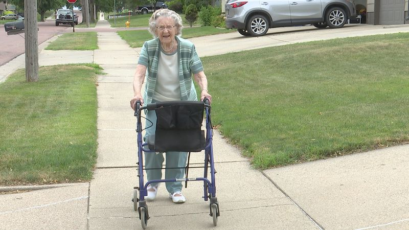An amazing 105-year life