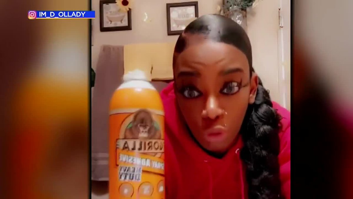 The woman who put Gorilla glue in her hair has launched a new hair product line.