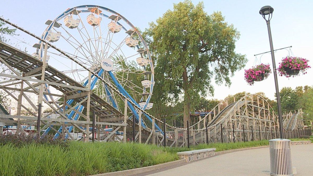 Arnolds Park Amusement Park.
