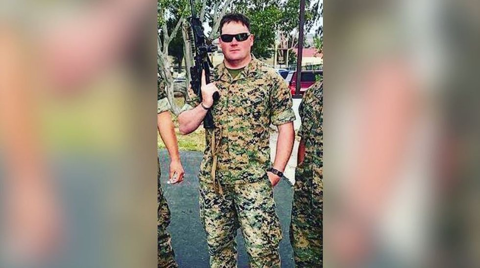 """The parents of Sgt. Darrin """"Taylor"""" Hoover, a 31-year-old Marine from Salt Lake City, called..."""