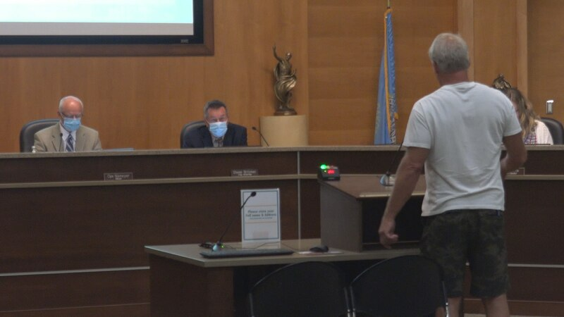 Brookings city council meeting 8-24