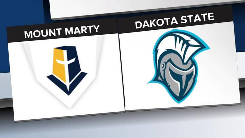 Dakota State sweeps Mount Marty improving to 14-5