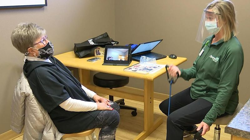 During the pandemic, a virtual program is helping people in the Mitchell area stay in shape.