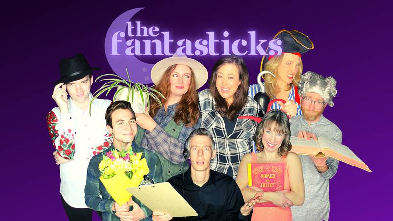 """The Good Night Theatre Collective will open """"The Fantasticks"""" Thursday at the Washington..."""
