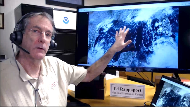 NHC Deputy Director Dr. Ed Rappaport discusses double threat in the Gulf from Tropical Storm...