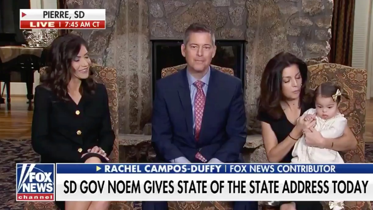 Gov. Noem gave a preview of her address on Fox & Friends Tuesday morning, including a...
