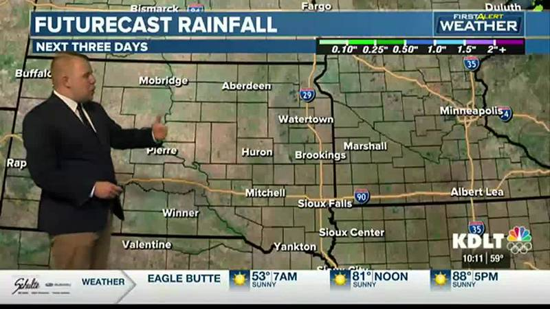 Saturday Night Weather Forecast with Meteorologist Austin Haskins