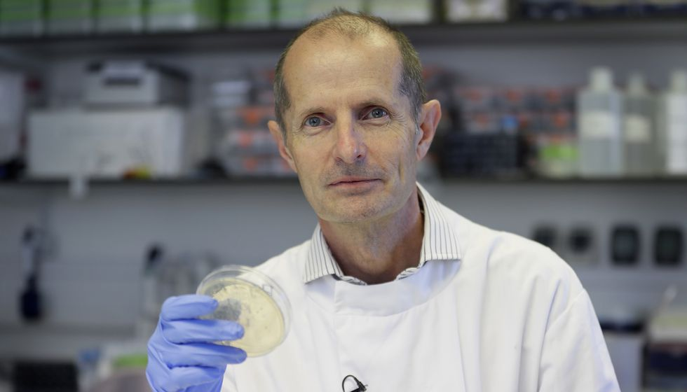 This photo shows Professor Robin Shattock, the head of Mucosal Infection and Immunity within...