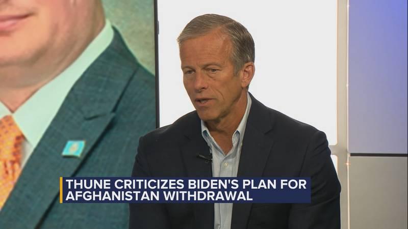 Thune sat down Thursday afternoon with Dakota News Now anchor Brian Allen.
