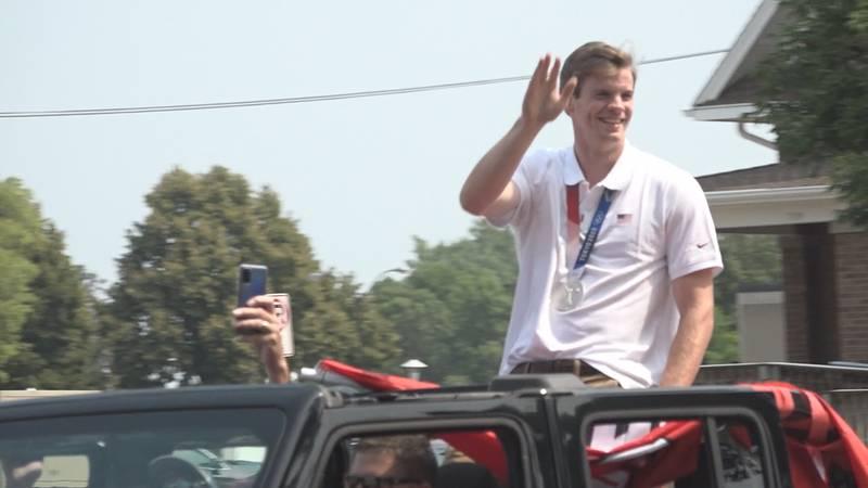 Chris Nilsen receives warm welcome back to South Dakota