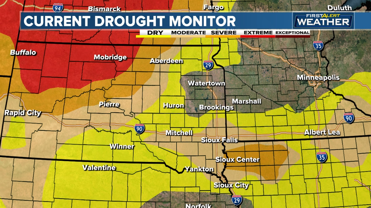 Drought monitor released April 29