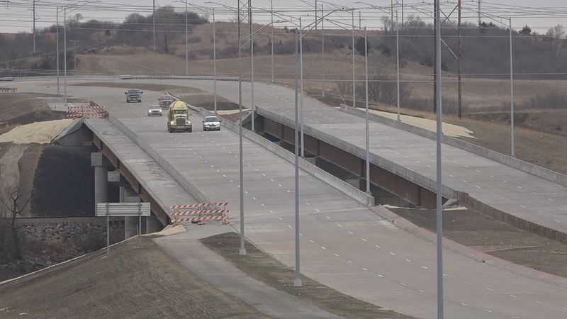 The section of Veterans Parkway from Rice Street to I-90 is now open for traffic.