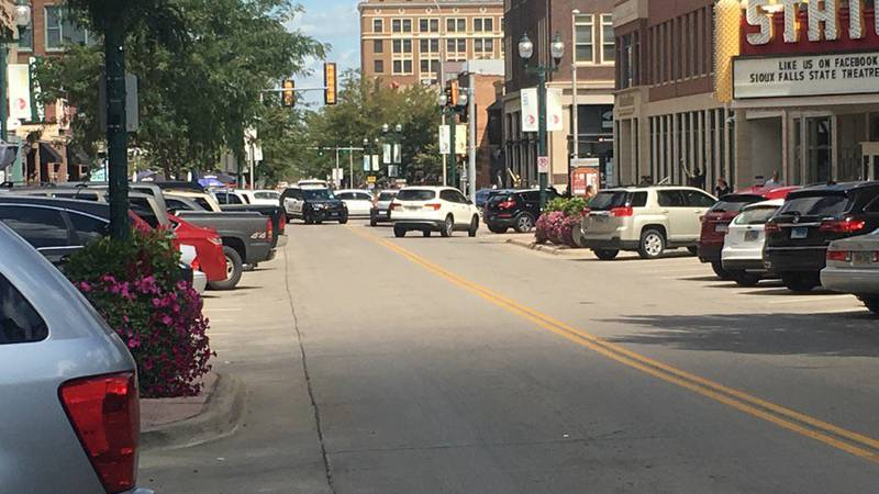 Phillips Avenue in downtown Sioux Falls (file photo)