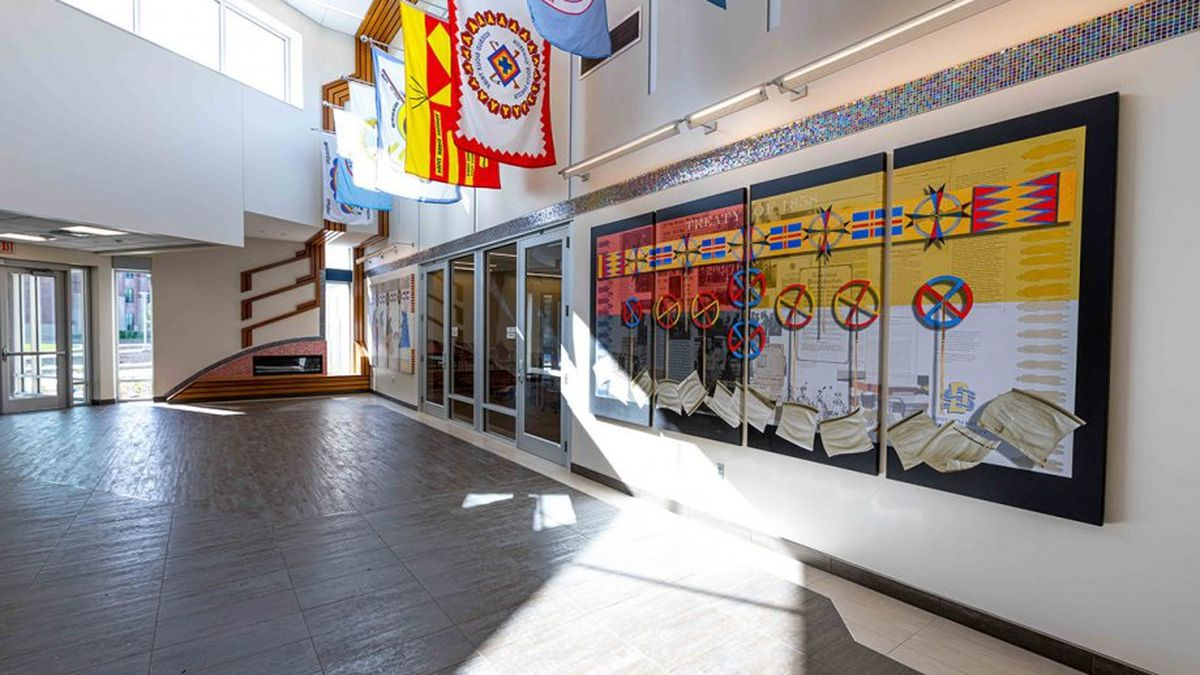 American Indian Student Center lobby, courtesy South Dakota State University