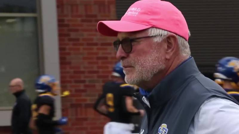 Stig knows the toughest part of the schedule starts Saturday for his SDSU football team