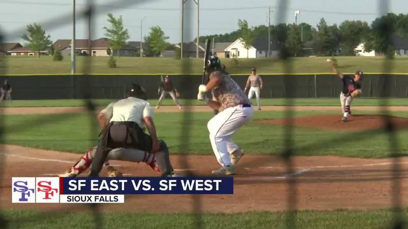 SF East edges arch-rival SF West 5-4 in legion baseball Monday night