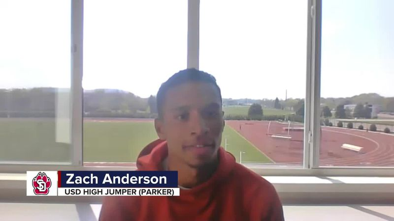 USD's Anderson is happy that Summit League Championships are in Vermillion