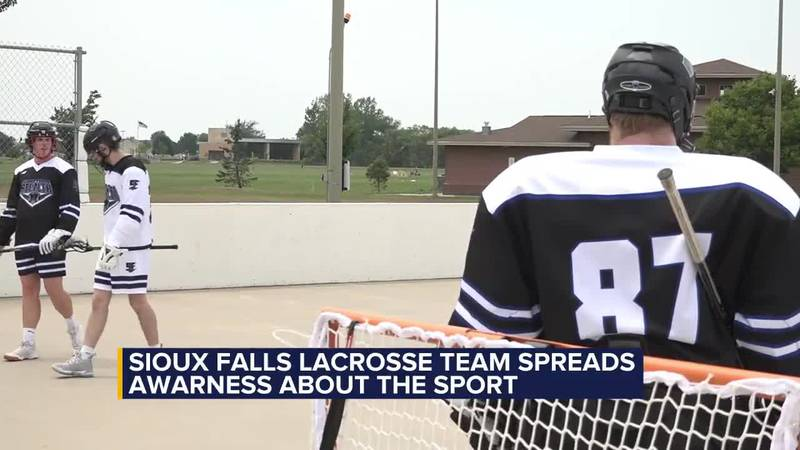 Sioux Falls lacrosse team spreading awareness about the sport