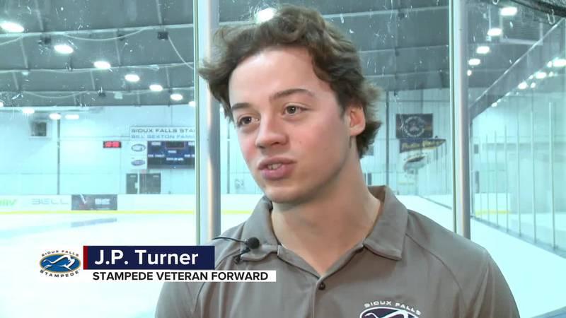 JP Turner likes the returning core of veterans on Stampede