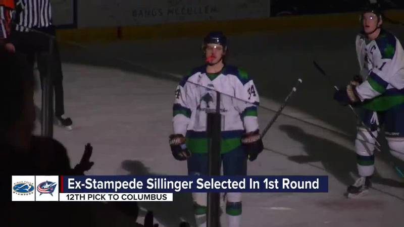 Stampede alum drafted 12th overall by Columbus