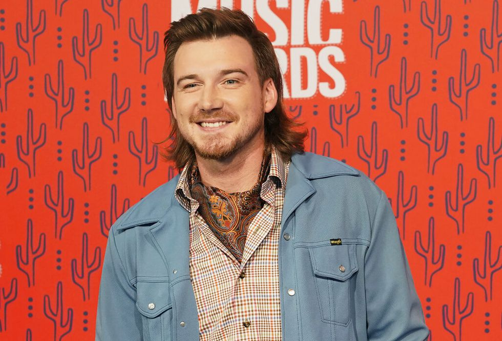 """In this June 5, 2019, file photo, Morgan Wallen arrives at the CMT Music Awards in Nashville, Tenn. Wallen has been dropped from performing on """"Saturday Night Live"""" after breaking the show's COVID-19 protocols."""