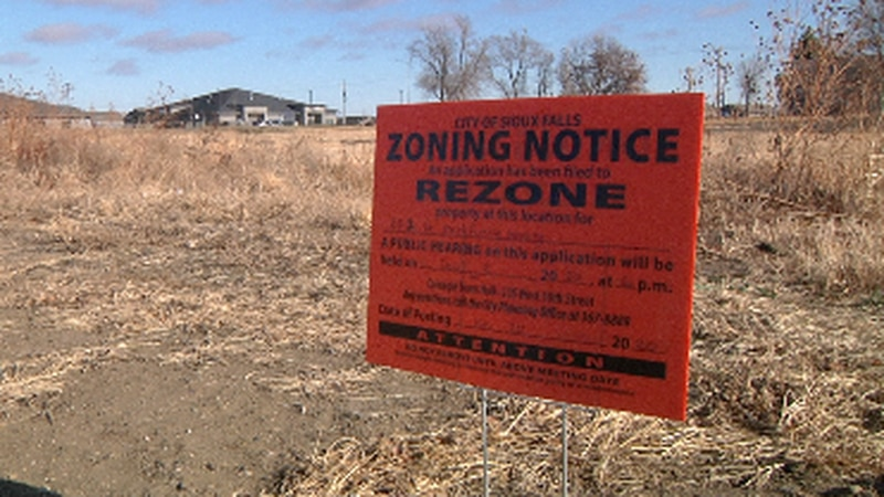 Neighbors upset about West Sioux Falls rezoning