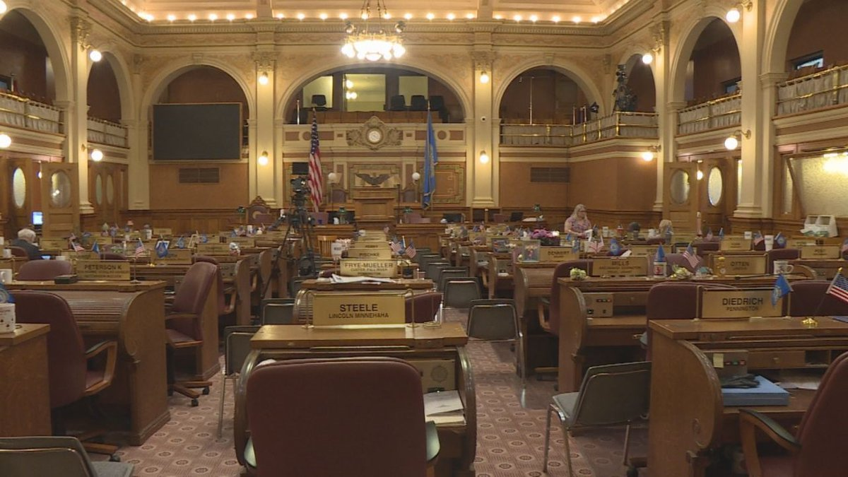 South Dakota State Legislature at the Capitol building in Pierre, S.D.