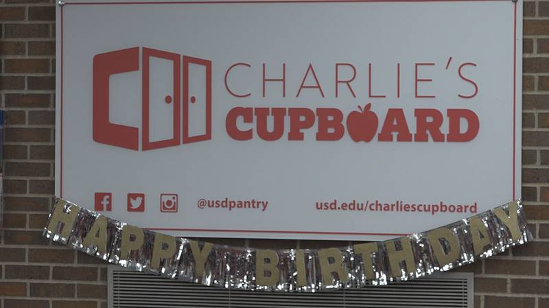 Two University of South Dakota students saw the need to bring a food pantry to the college...
