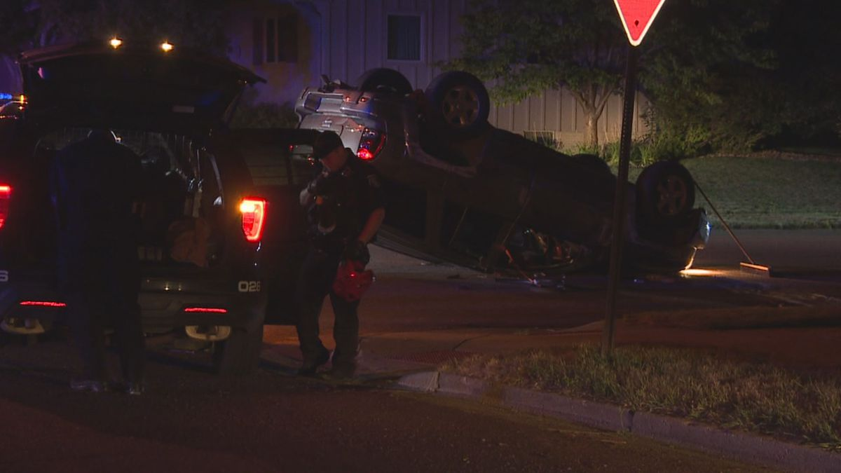 A sergeant with the Sioux Falls Police Department said no one was seriously injured in the accident Tuesday morning.