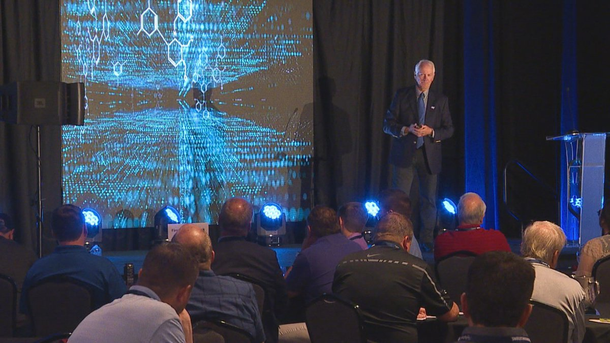 The Greater Sioux Falls Chamber of Commerce hosted its annual Cybersecurity Conference Tuesday.